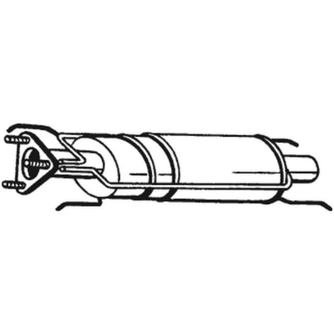 Filtre À Particules Bosal 097-202
