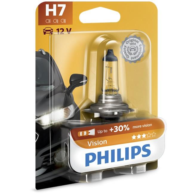 1 Ampoule Philips H7 Vision 55 W 12 V