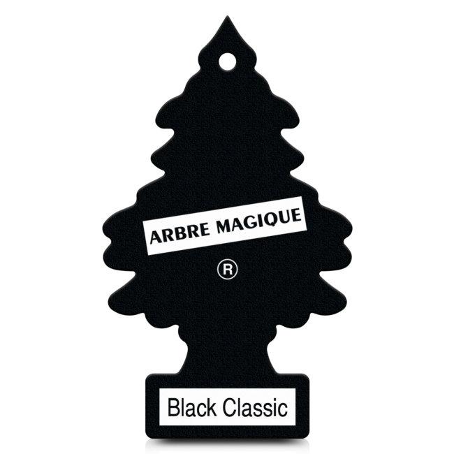 Désodorisant Voiture Arbre Magique Black Classic