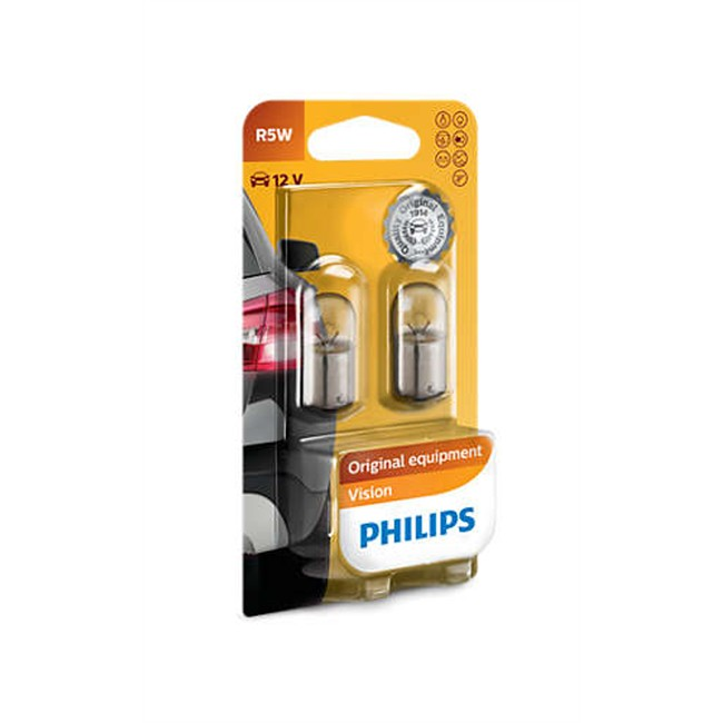 2 Ampoules Philips R5w 5 W 12 V