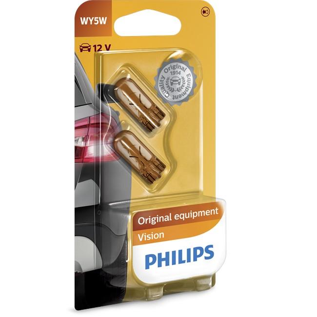2 Ampoules Philips Wy5w 5 W 12 V
