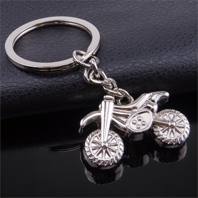 Porte-clés Métal Moto