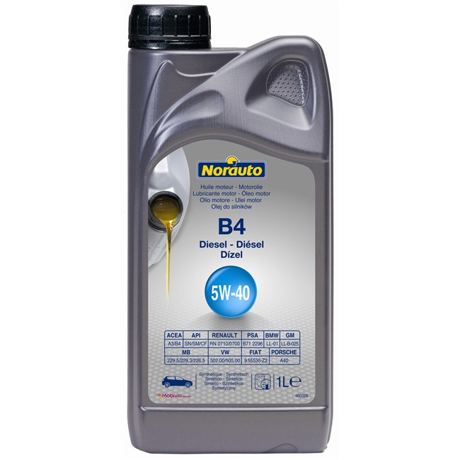Huile moteur norauto b4 5w40 <strong>diesel</strong> 1 l