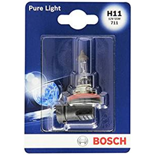 1 Ampoule Bosch H11 Pure Light 12 V