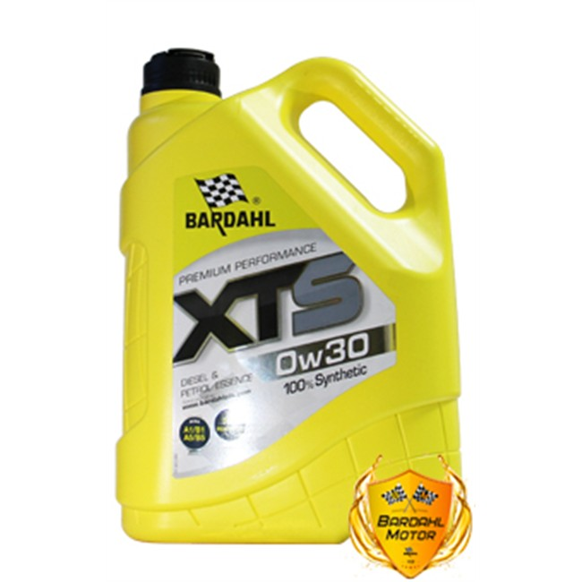 Huile Moteur Bardhal Xts 0w30 Essence Et Diesel 5 L