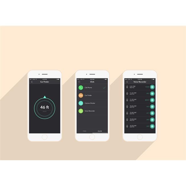ZUS Chargeur Connecte Double Usb Localisateur