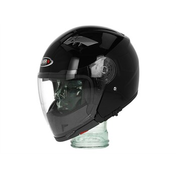 Casque modulable SHIRO SH414 noir brillant S