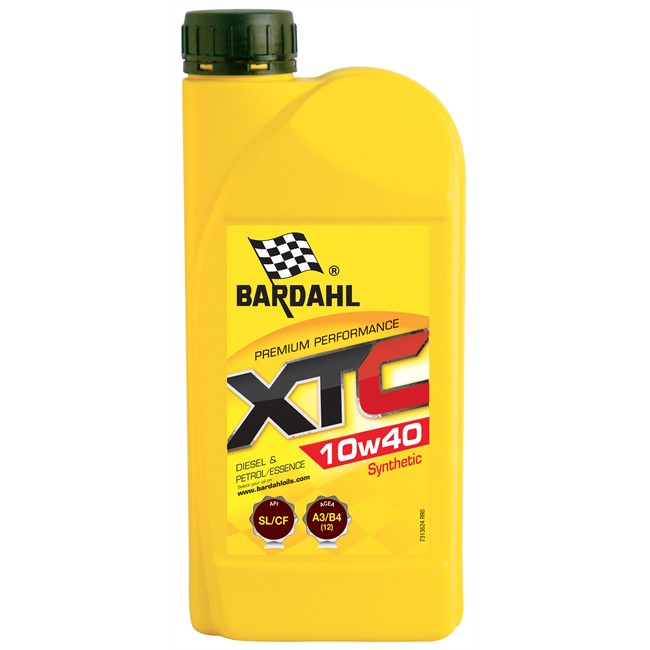 Huile moteur bardahl xtc 10w40 essence et <strong>diesel</strong> 1 l