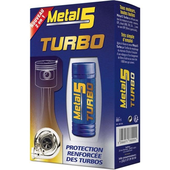 Traitement Protection Renforcée Pour Turbo Metal 5 80 Ml