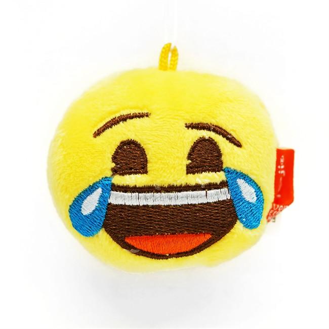 Désodorisant Voiture Emoji Peluche Mdr Vanille