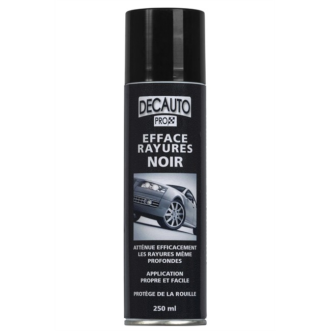 Efface-rayures Noir Decauto 250 Ml