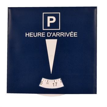 1 disque de stationnement en carton color pop