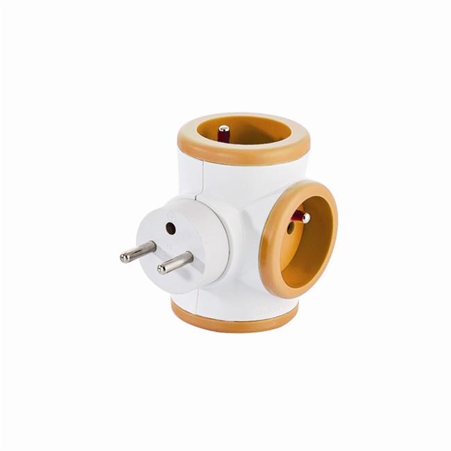 Bloc Prise Triplite 3 X 16 A Rotatif Orange Watt&co