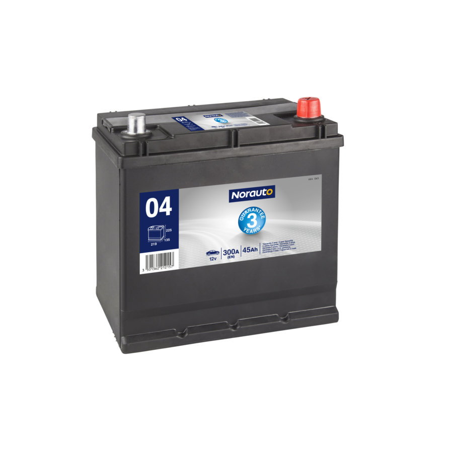 Batterie NORAUTO BV04 45 Ah - 300 A