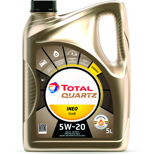 Huile Moteur Total Quartz 9000 Future Ecob 5w20 Essence Et Diesel 5 L