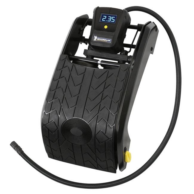 Pompe À Pied Double Piston Michelin Avec Manomètre Digital