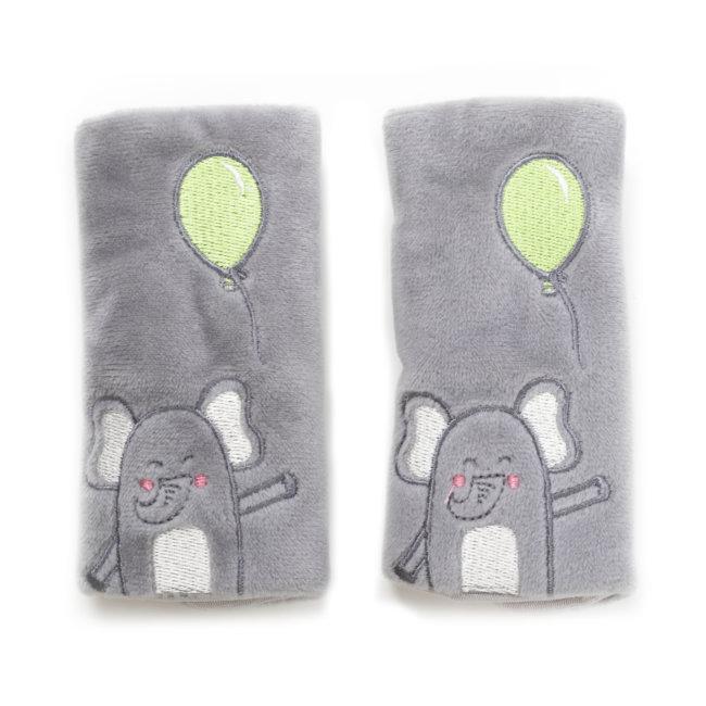 2 Protèges Ceinture Pour Siège Bébé Norauto Eléphant