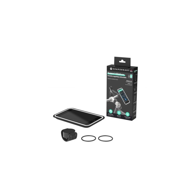 Support Téléphone Magnétique Pour Scooter Taille Xl Shapeheart