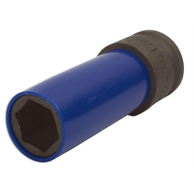Douille 6 Pans 17 Mm Pour Clé À Choc À Air Comprimé Laser 4448