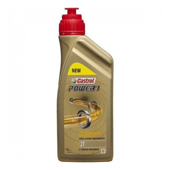 Huile 2t 2 Roues Castrol Power1 Racing 1l