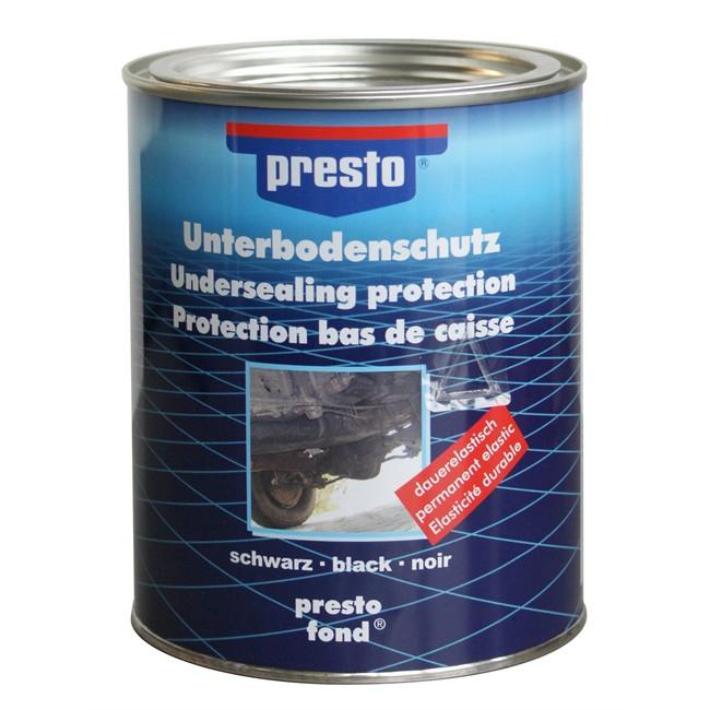 Boîte Bitume Pour Protection De Bas De Caisse Noir Presto 1.3 Kg