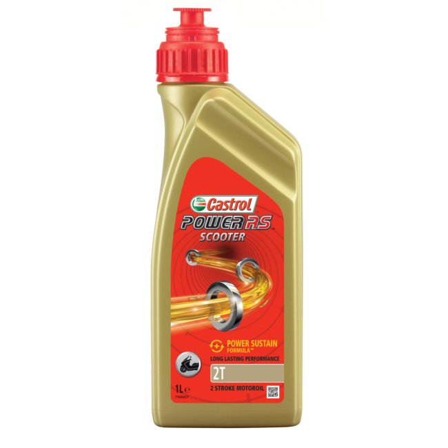 Huile 2t 2 Roues Castrol Power Rs Scooter 1l