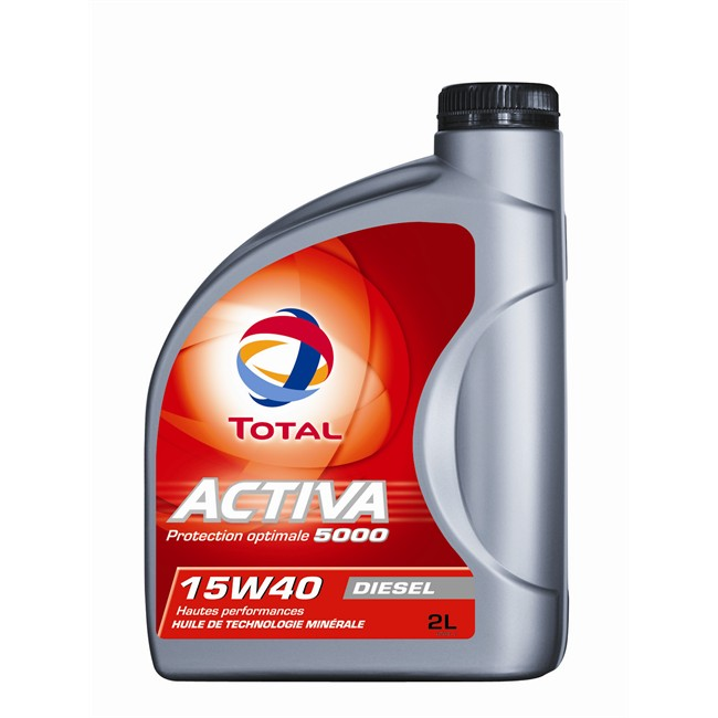 Huile moteur total activa 5000 15w40 <strong>diesel</strong> 2 l