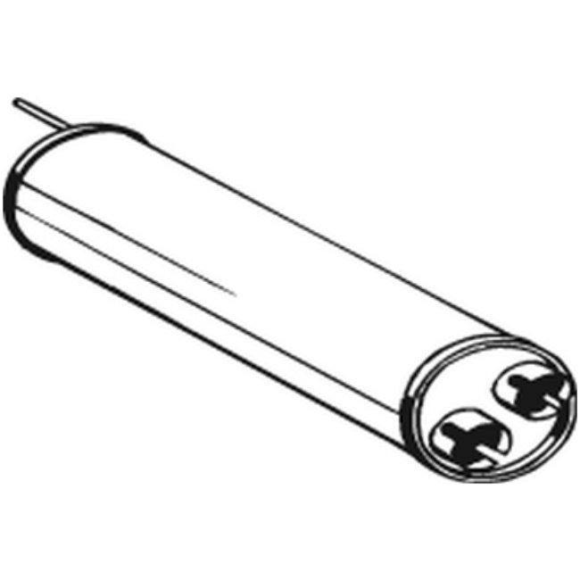 Silencieux Intermédiaire Bosal 135-493
