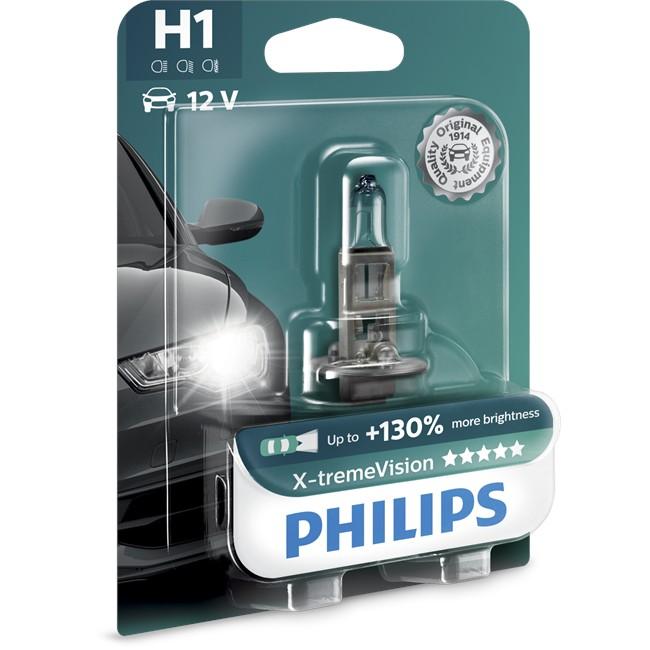 1 Ampoule Philips H1 X-tremevision 55 W 12 V