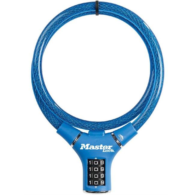 Câble Antivol À Combinaison Masterlock 90 Cm Pour Vélo