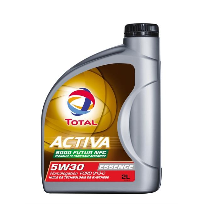 Huile Moteur Total Activa Essence 9000f Nfc 5w30 Essence Et Diesel 2 L