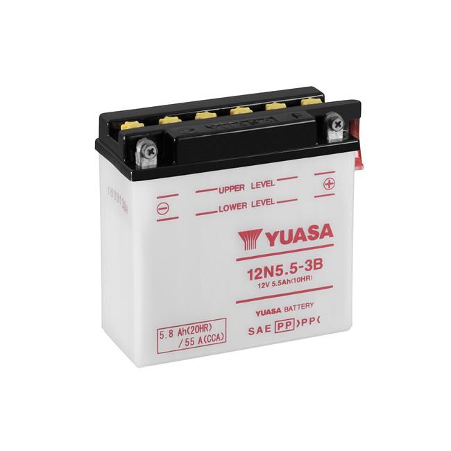 Batterie Moto Yuasa 12n5.5-3b