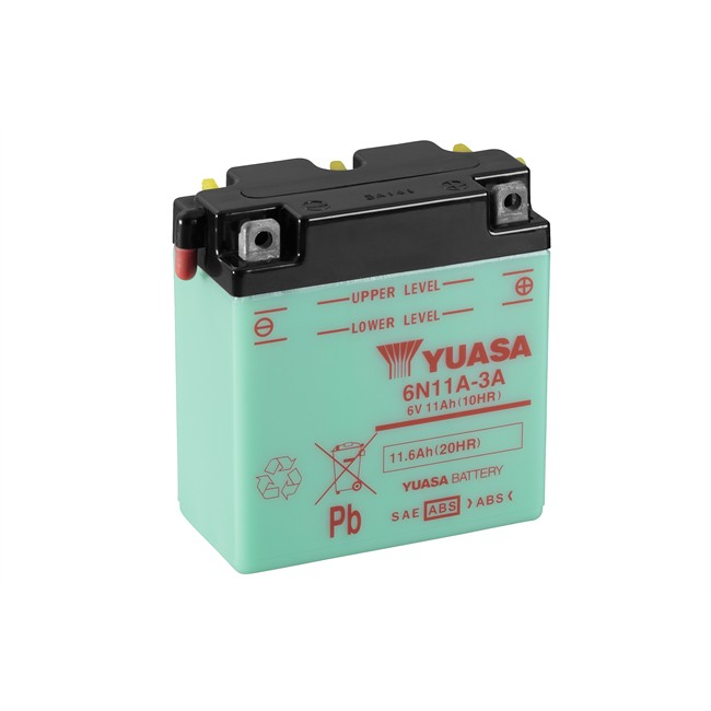 Batterie Moto Yuasa 6n11a-3a