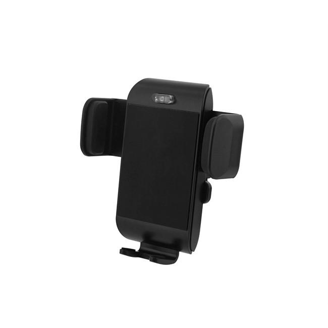Chargeur Voiture Induction + Chargeur Allume-cigare + Câble Micro Usb Intégré Noir Tnb