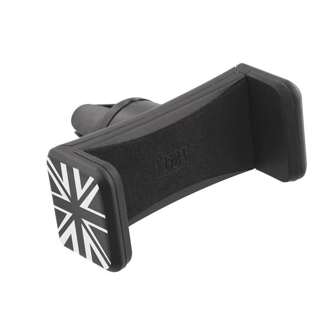 Support Grille Compact Universel Pour Smartphone Noir Drapeau Uk Tnb