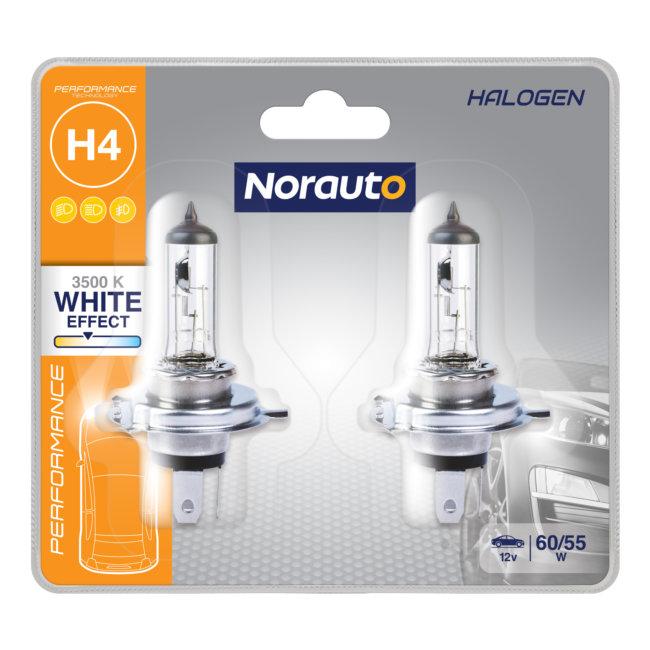 Super White marquage dhomologation E Gread Bo/îte dampoules halog/ènes H4/aspect x/énon Lights 100/Ajustement parfait et longue dur/ée de vie 8500/K 60//55/W