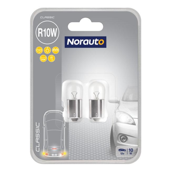 2 Ampoules R10w Norauto Classic