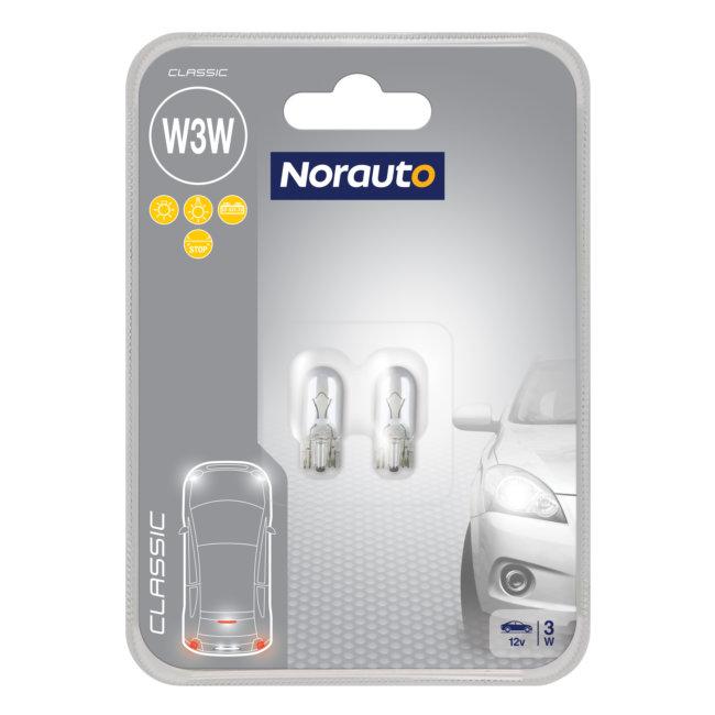 2 Ampoules W3w Norauto Classic