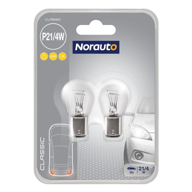 2 Ampoules P21/4w Norauto Classic