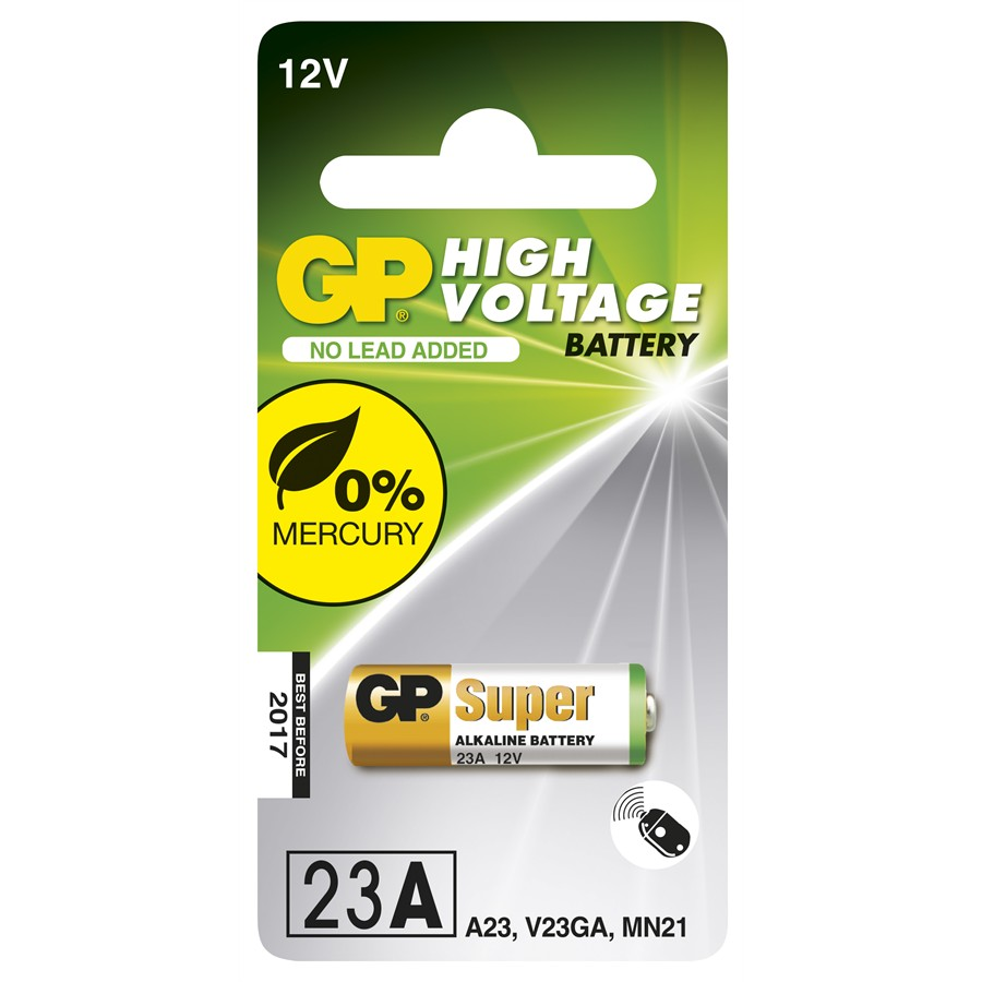1 pile 12V 23AE GP High Voltage Ultra Alkaline