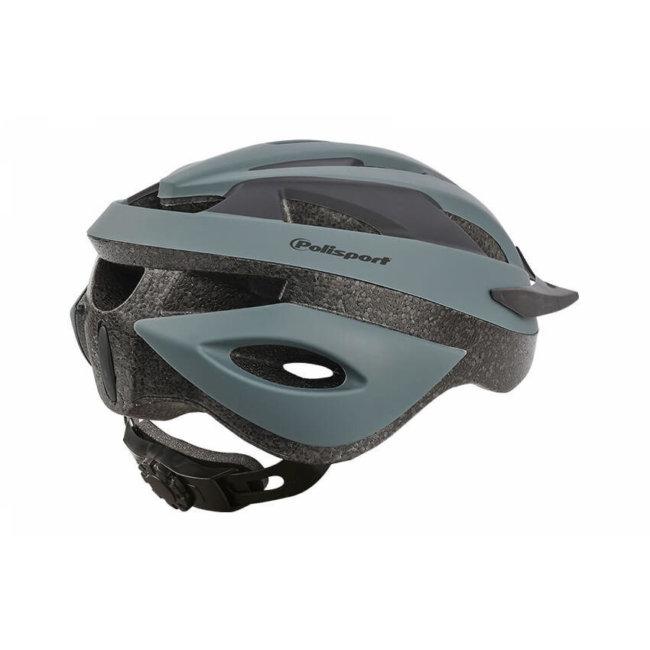 Casque Vélo Adulte Polisport Sport Ride Noir Mat Taille L