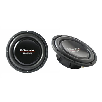 2 subwoofers PHONOCAR 2649 Pro Tech