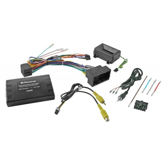 Interface De Commandes Au Volant Phonocar Avec Système Plug And Play, Compatibles Fiat/jeep Ref. 04069