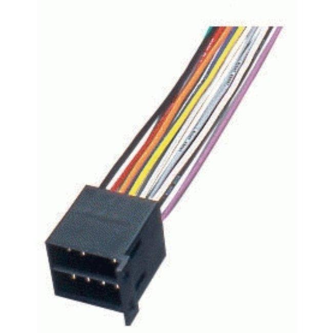 Câble D'alimentation Pour Autoradio Multimarque Phonocar Avec Connecteur Iso Ref. 04644