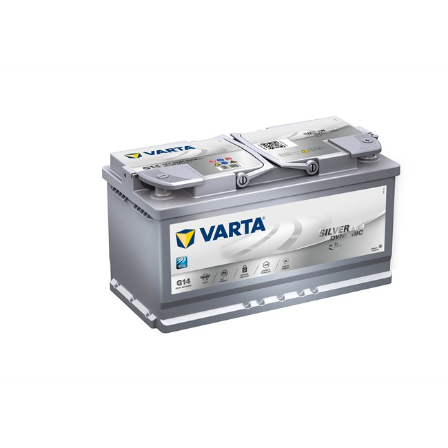 Batterie Varta G14 Start&Stop Silver Dynamic Agm 95 Ah - 850 A