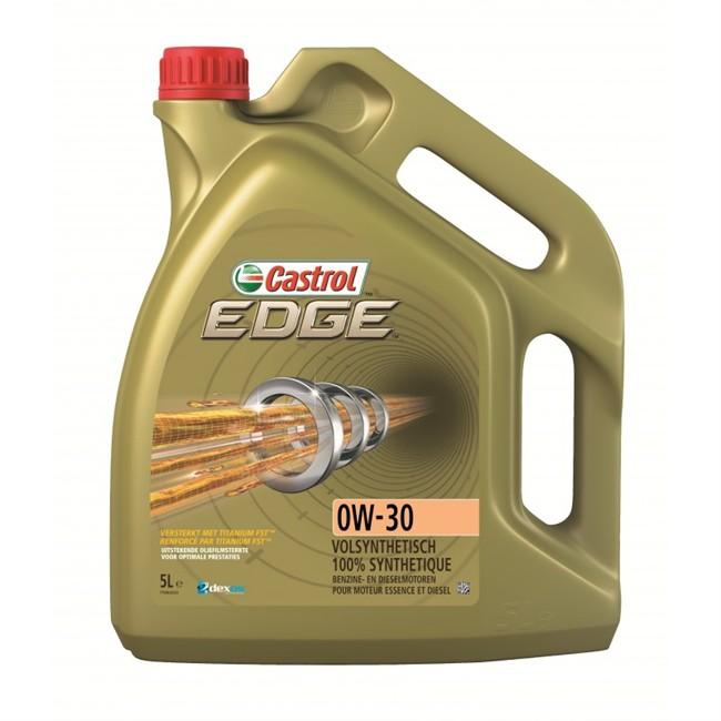 Huile Moteur Castrol Edge 0w30 Essence Et Diesel 5 L