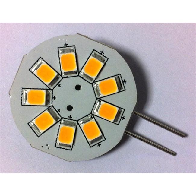 1 Ampoule G4 9 Leds 120 Lumens Sortie Latérale Brille-led