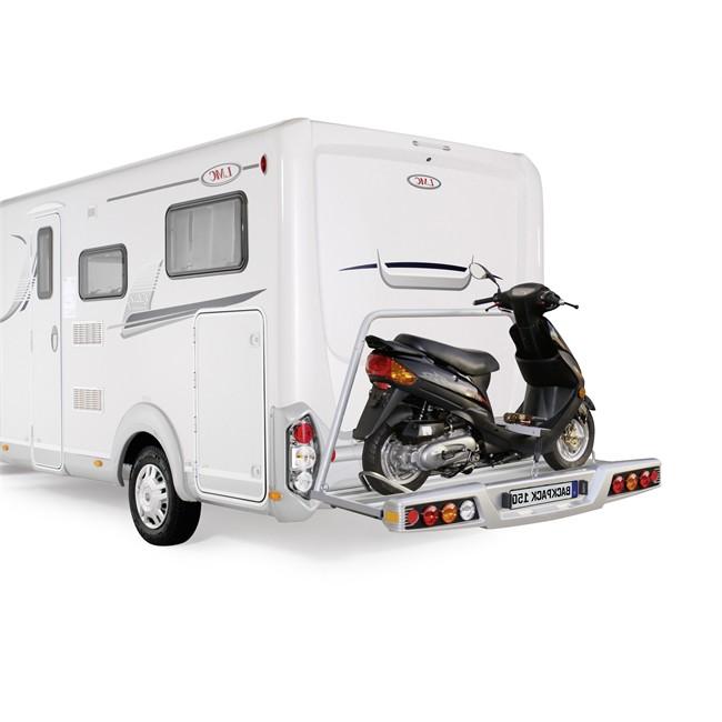 Porte-moto Plate-forme Al-ko Backpack 150 Pour 1 Moto Compatible Vélos Électriques