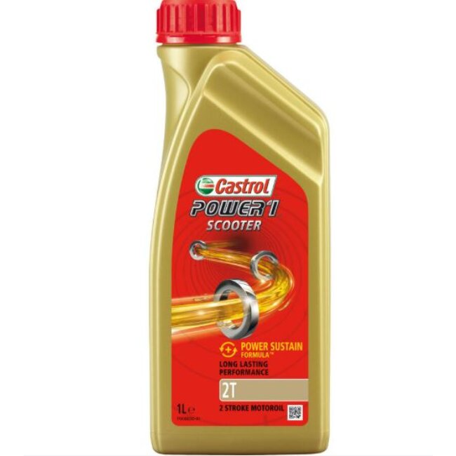 Huile 2t 2 Roues Castrol Power 1 Scooter 1 L