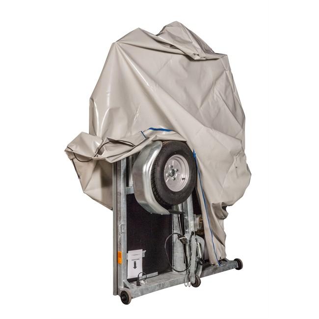 Housse De Protection Pour Remorque En Pvc La Remorque Pliante 200 X 150 X 45 Cm